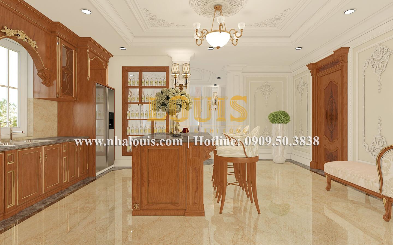 Phòng bếp và quầy bar Ngắm biệt thự cổ điển kiểu Pháp đẳng cấp tại Đồng Nai