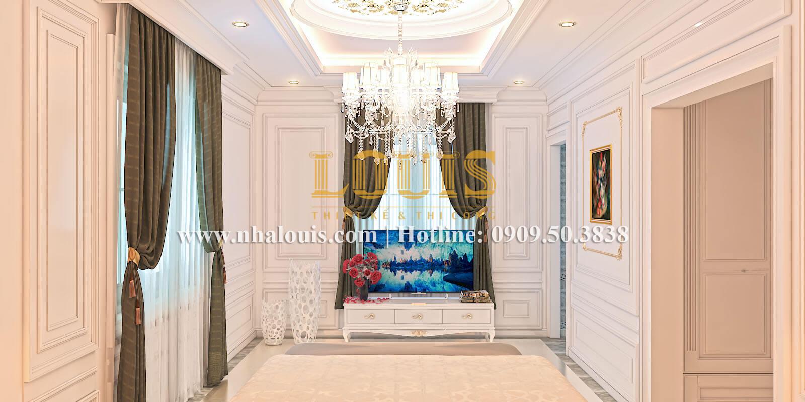 Phòng ngủ biệt thự cổ điển kiểu Pháp đẳng cấp tại Đồng Nai