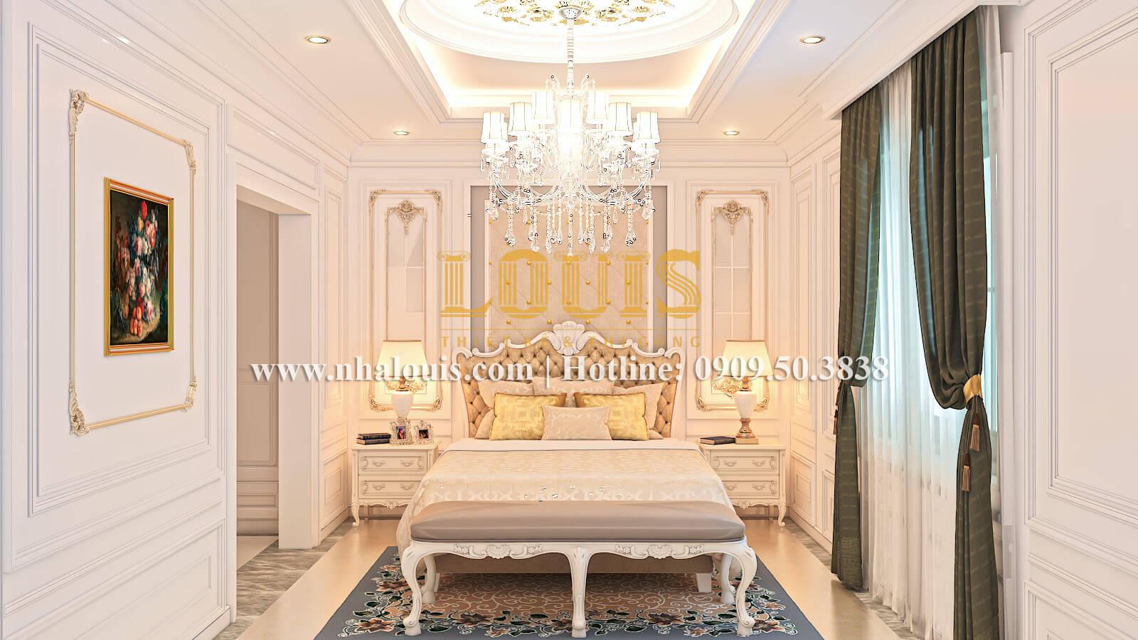 Phòng ngủ Ngắm biệt thự cổ điển kiểu Pháp đẳng cấp tại Đồng Nai