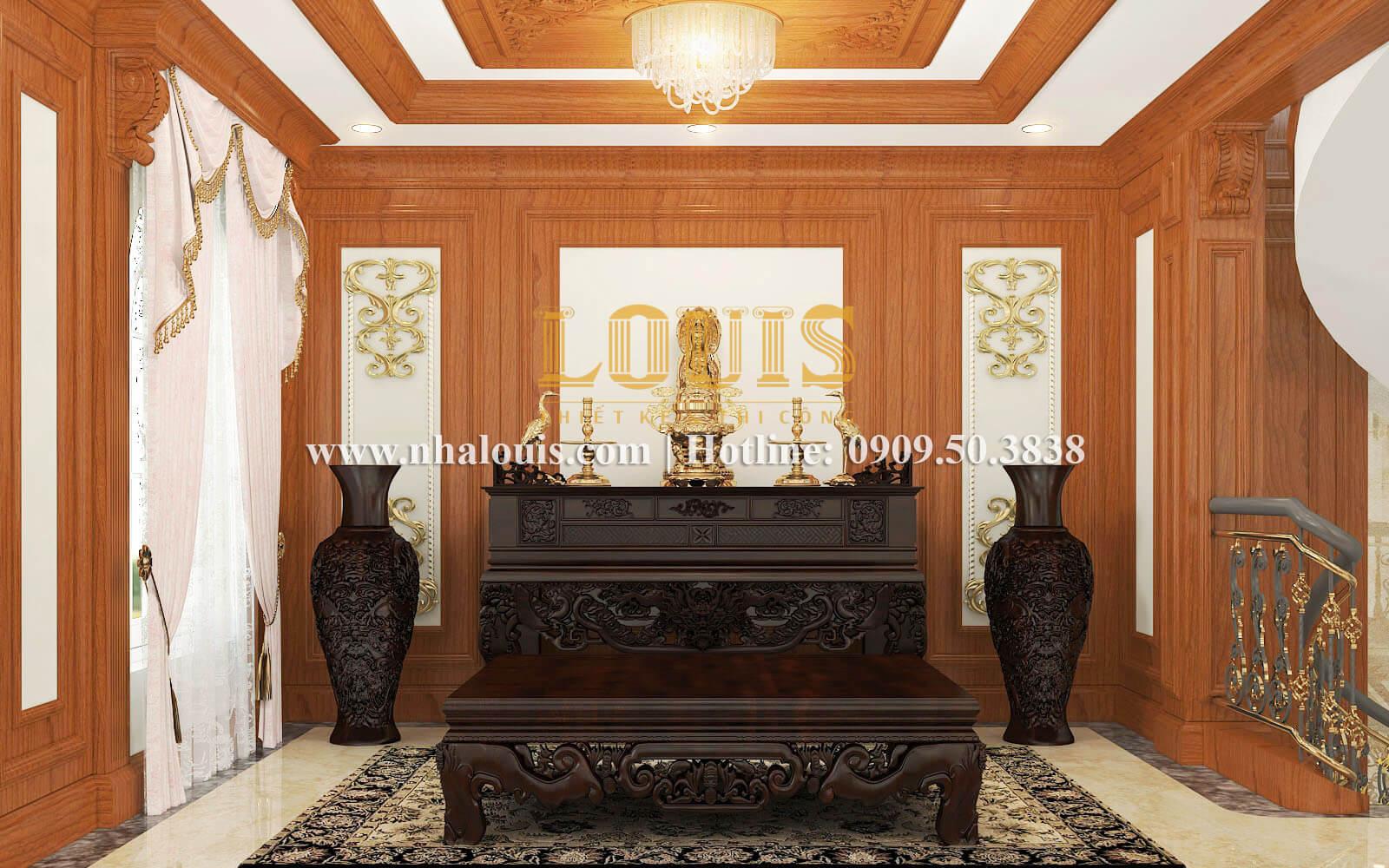 Phòng thờ biệt thự cổ điển kiểu Pháp đẳng cấp tại Đồng Nai