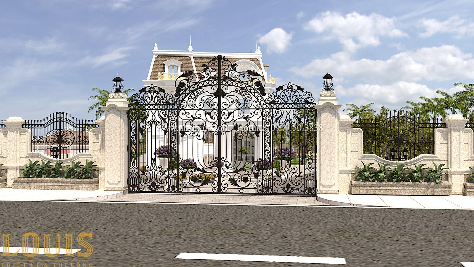 Sân vườn biệt thự cổ điển kiểu Pháp đẳng cấp tại Đồng Nai - 66