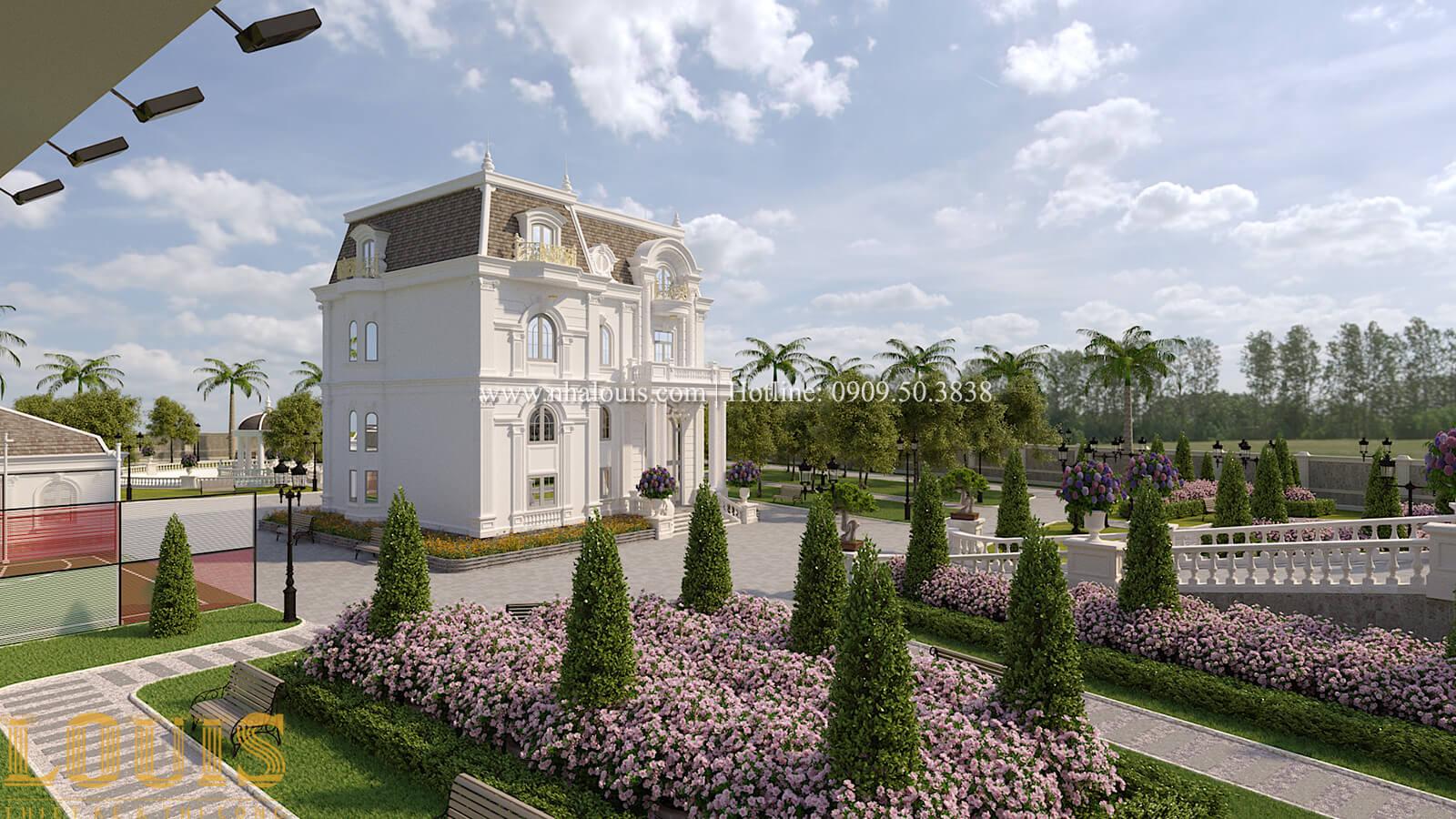 Sân vườn biệt thự cổ điển kiểu Pháp đẳng cấp tại Đồng Nai - 68