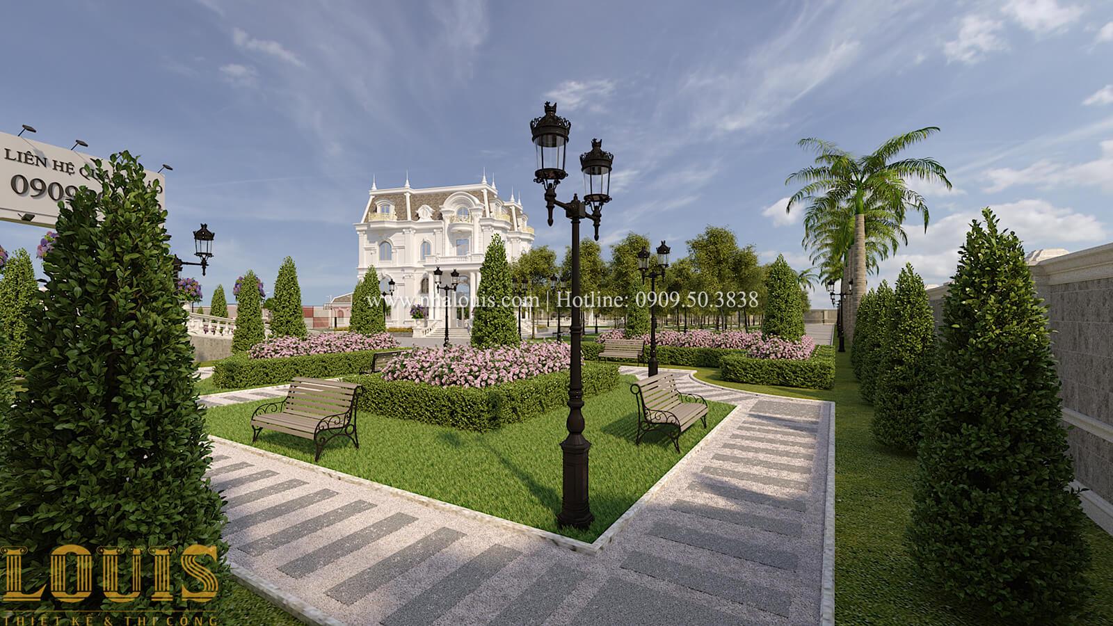 Sân vườn biệt thự cổ điển kiểu Pháp đẳng cấp tại Đồng Nai - 69
