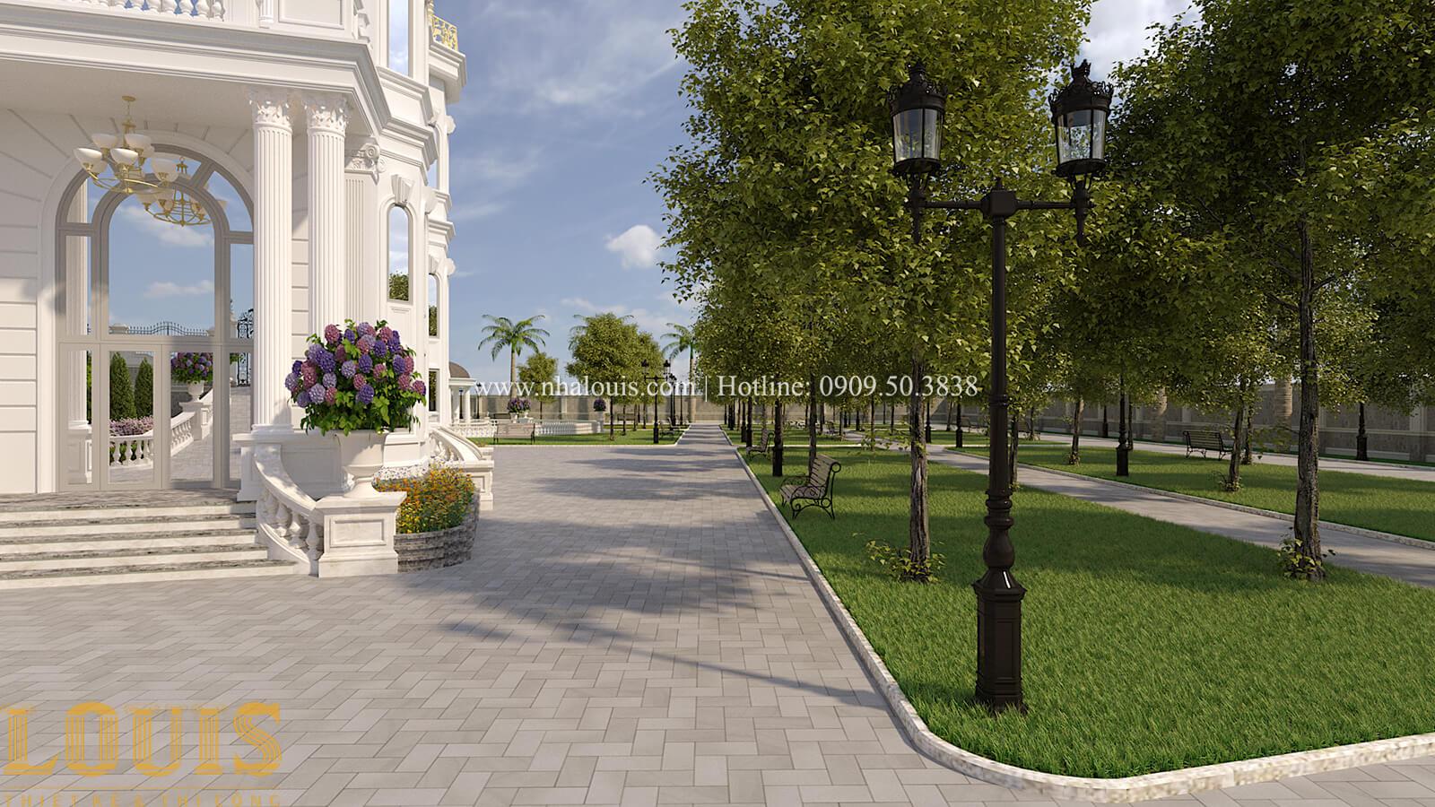 Sân vườn biệt thự cổ điển kiểu Pháp đẳng cấp tại Đồng Nai - 73
