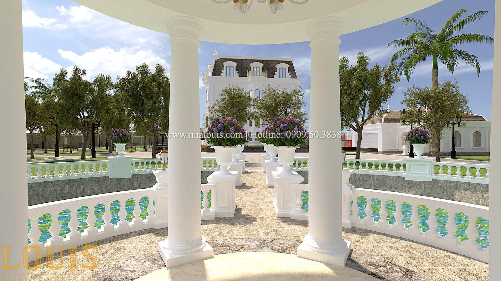 Sân vườn biệt thự cổ điển kiểu Pháp đẳng cấp tại Đồng Nai - 74