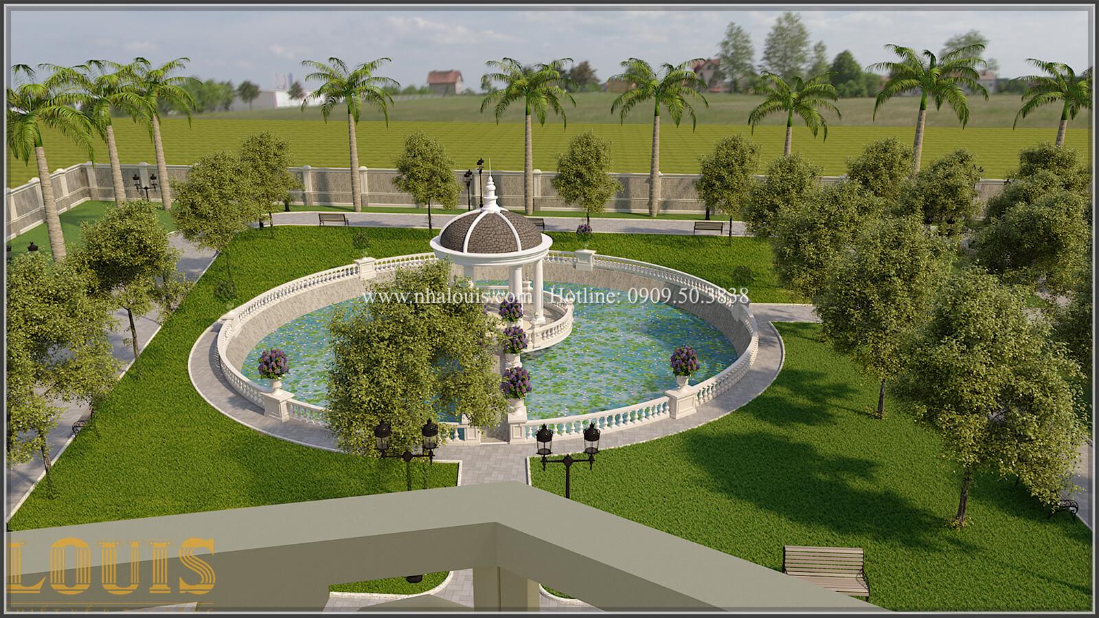 Sân vườn biệt thự cổ điển kiểu Pháp đẳng cấp tại Đồng Nai - 75