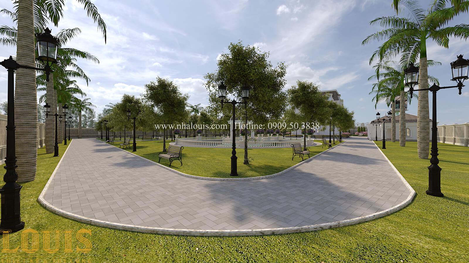 Sân vườn biệt thự cổ điển kiểu Pháp đẳng cấp tại Đồng Nai - 77