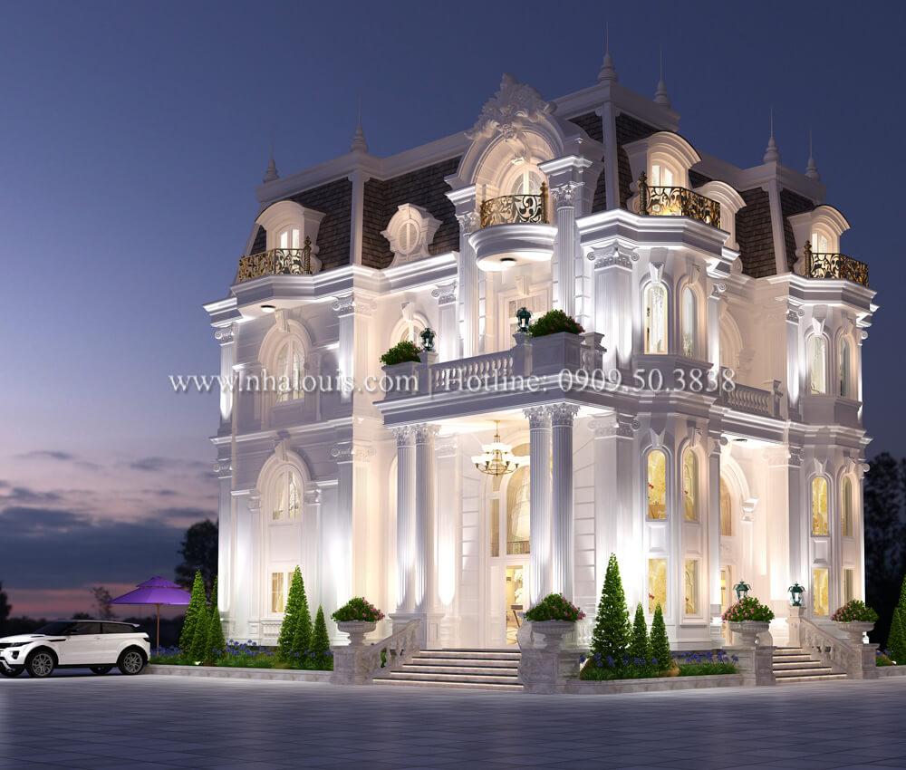 Ngắm biệt thự cổ điển kiểu Pháp đẳng cấp tại Đồng Nai