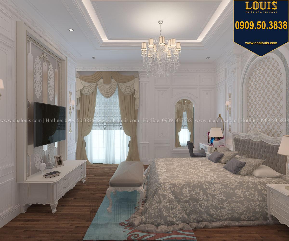 Phòng ngủ master biệt thự phong cách cổ điển châu Âu - 018