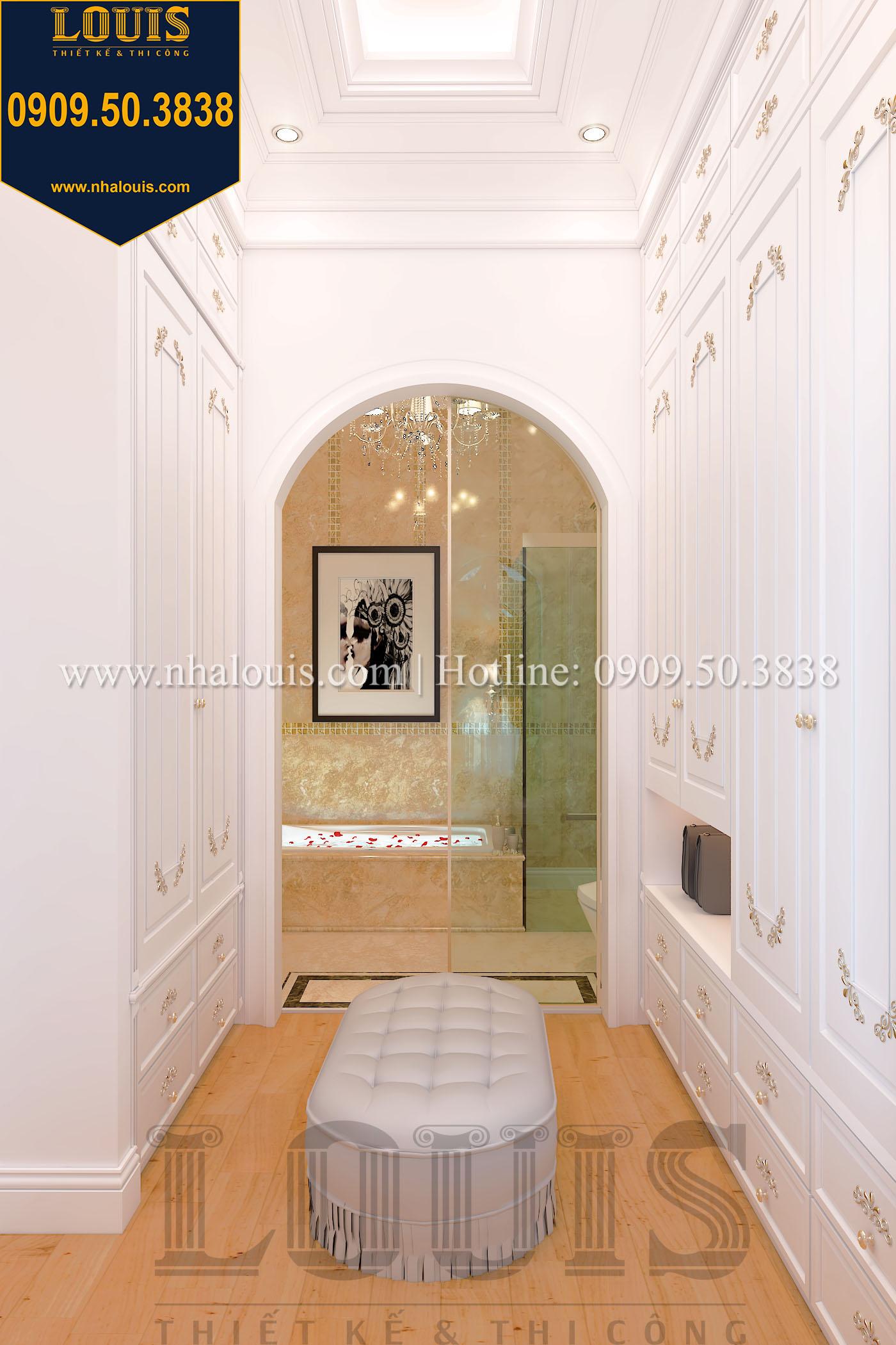 Phòng ngủ master biệt thự phong cách cổ điển châu Âu - 020