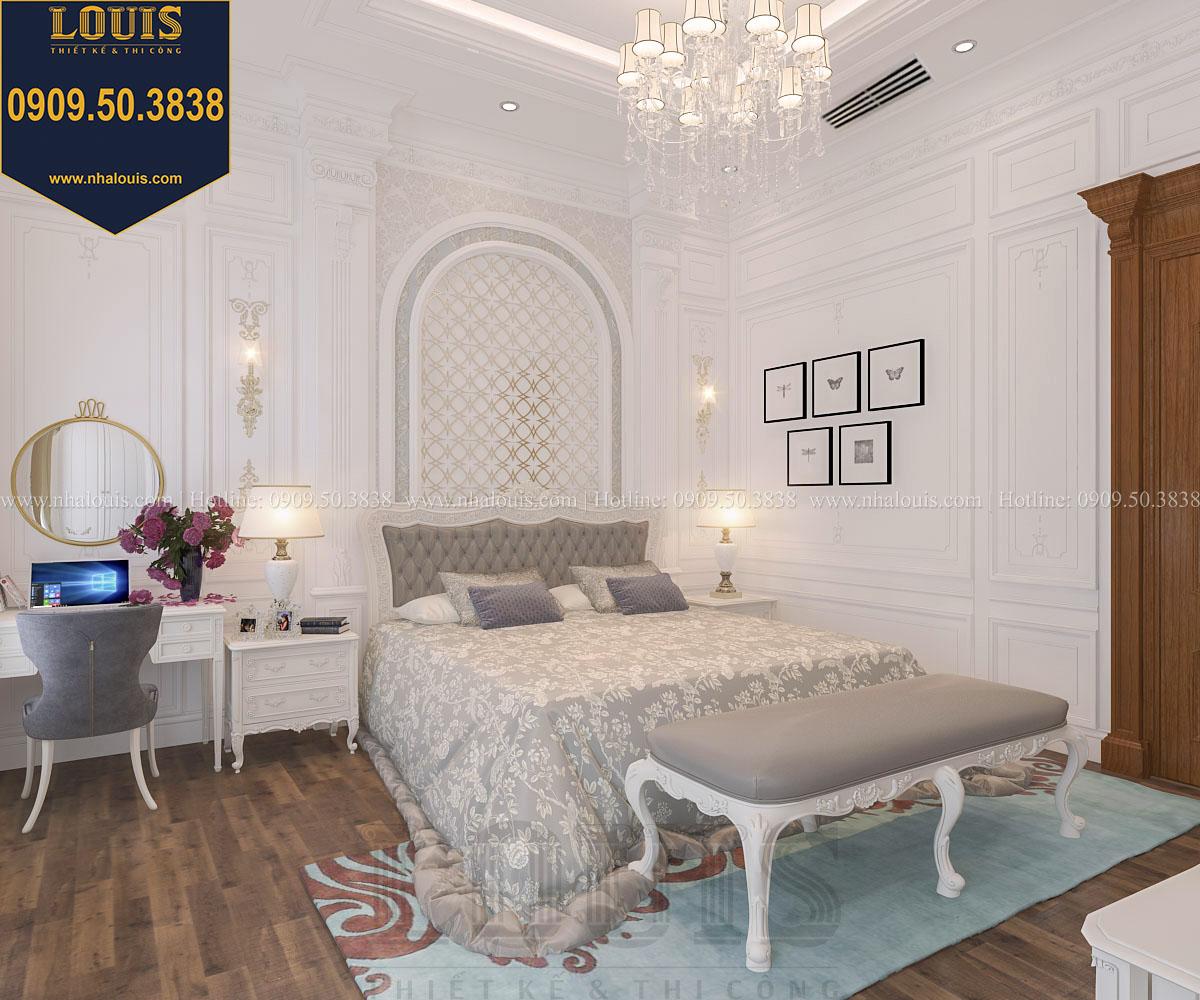 Phòng ngủ master biệt thự phong cách cổ điển châu Âu - 021