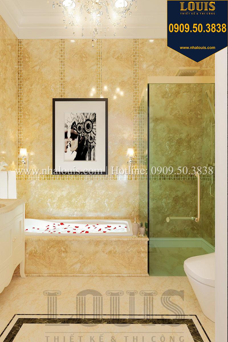 Phòng tắm và WC biệt thự phong cách cổ điển châu Âu - 023