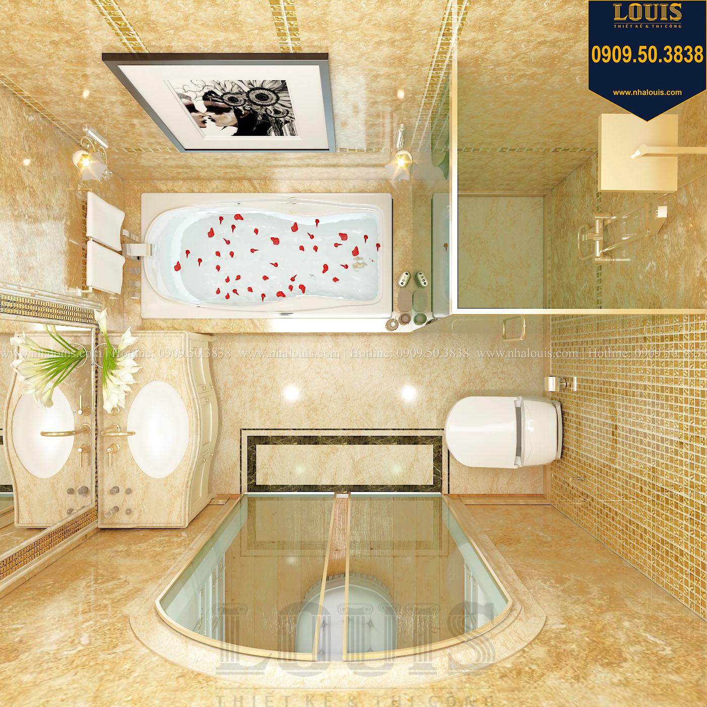 Phòng tắm và WC biệt thự phong cách cổ điển châu Âu - 024