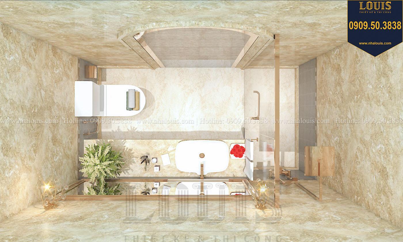 Phòng tắm và WC biệt thự phong cách cổ điển châu Âu - 028