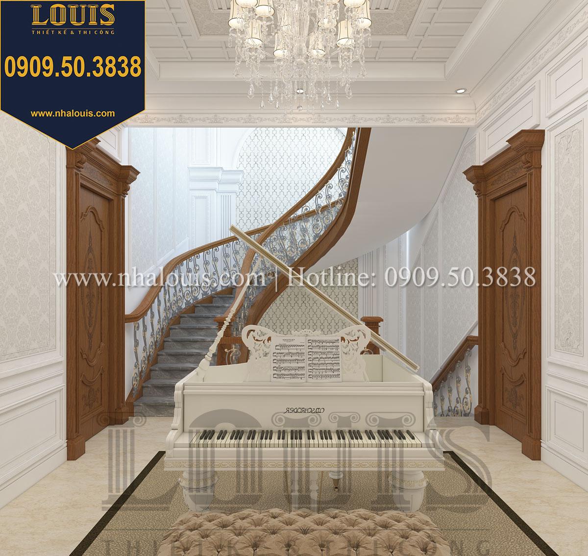 Sảnh biệt thự phong cách cổ điển châu Âu - 030