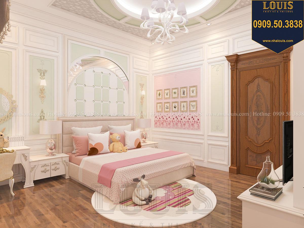 Phòng ngủ biệt thự phong cách cổ điển châu Âu - 033