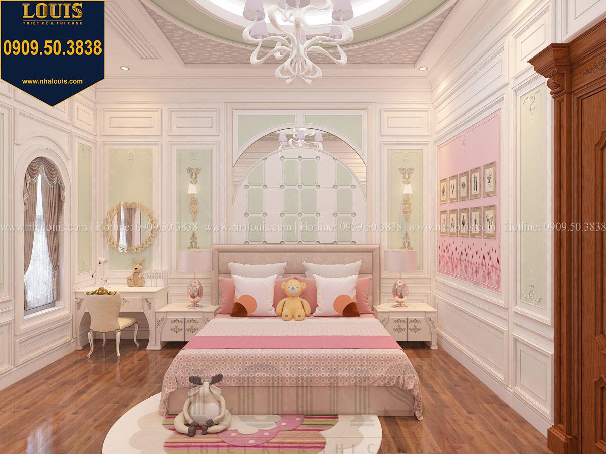 Phòng ngủ biệt thự phong cách cổ điển châu Âu - 034