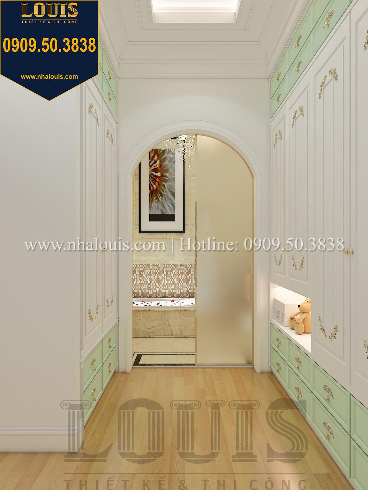 Góc thay đồ biệt thự phong cách cổ điển châu Âu - 035