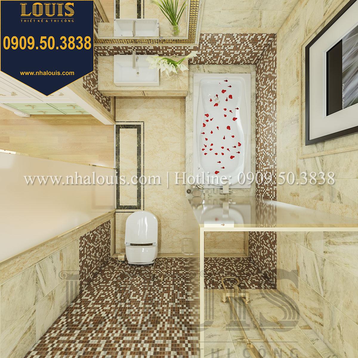 Phòng tắm và WC biệt thự phong cách cổ điển châu Âu - 036