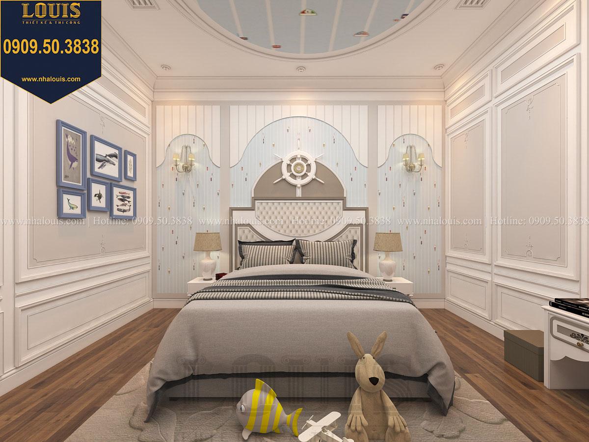 Phòng ngủ biệt thự phong cách cổ điển châu Âu - 037