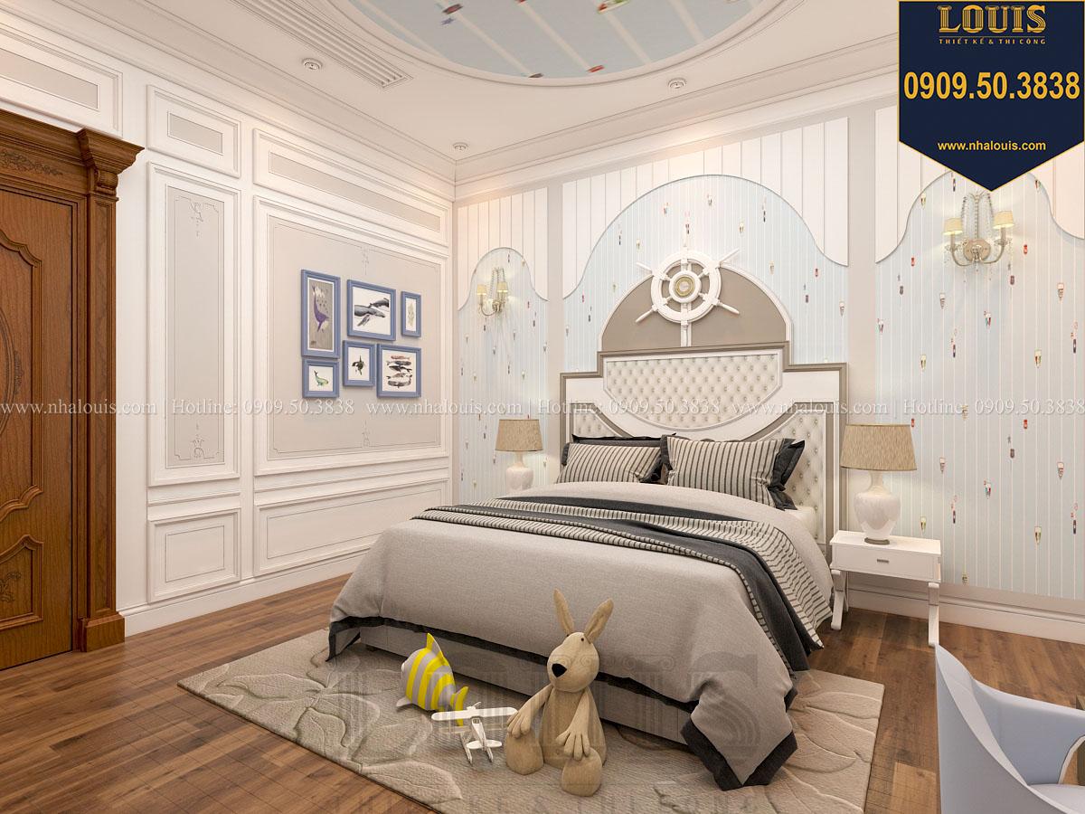 Phòng ngủ biệt thự phong cách cổ điển châu Âu - 038