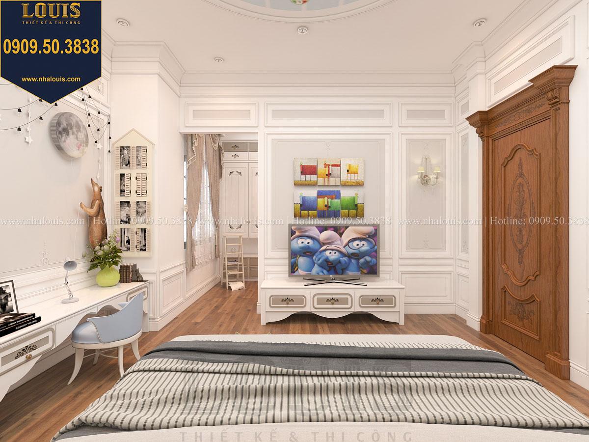 Phòng ngủ biệt thự phong cách cổ điển châu Âu - 040