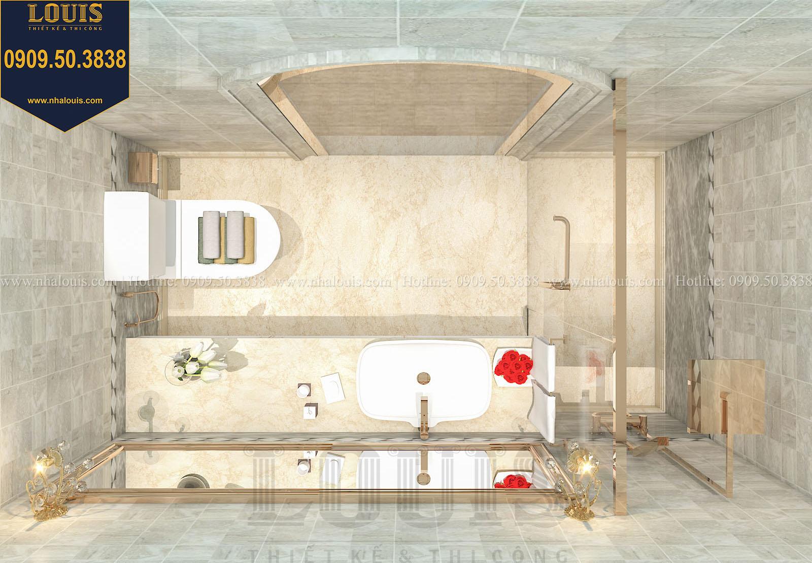 Phòng tắm và WC biệt thự phong cách cổ điển châu Âu - 042