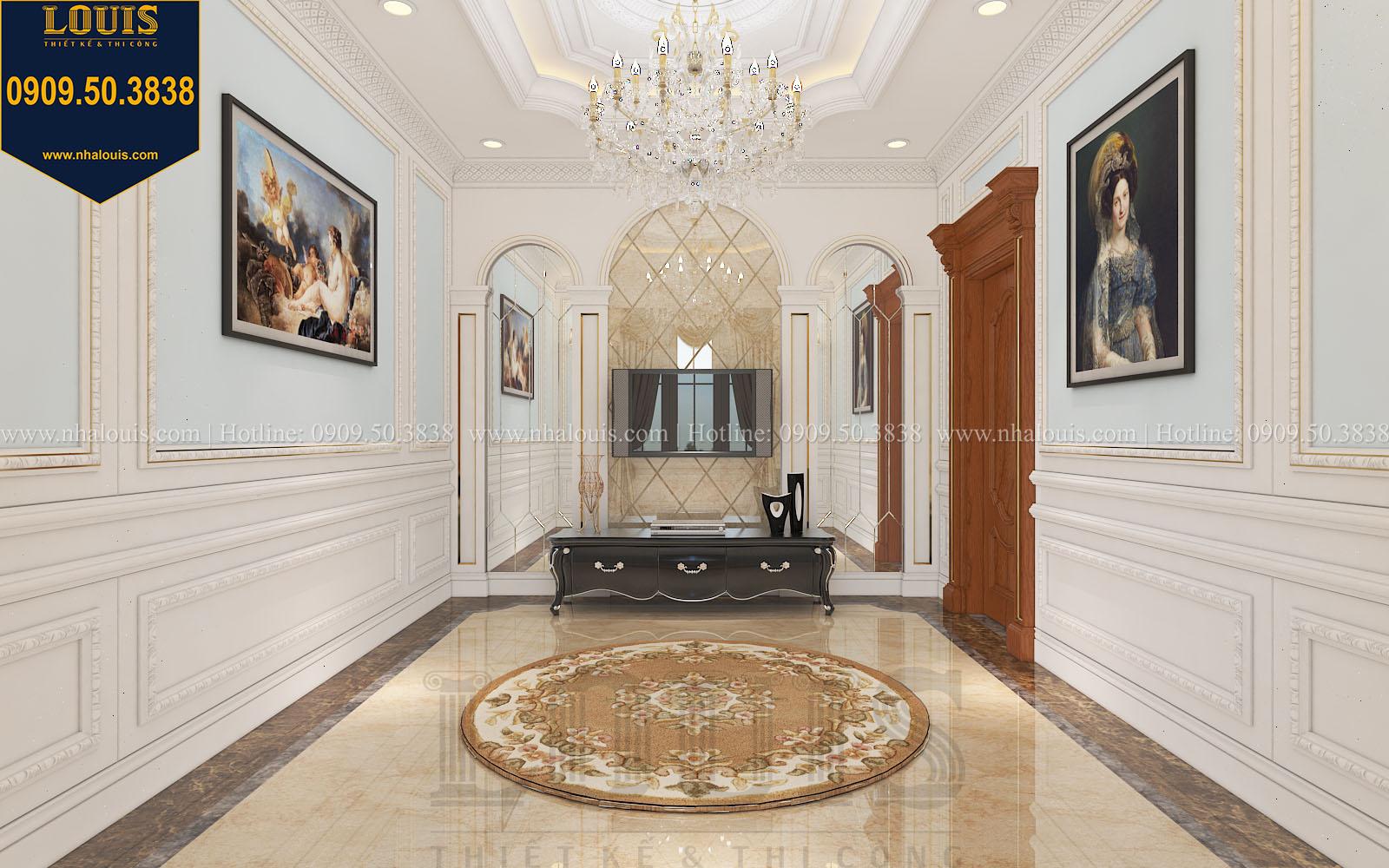 Phòng sinh hoạt chung biệt thự phong cách cổ điển châu Âu - 046