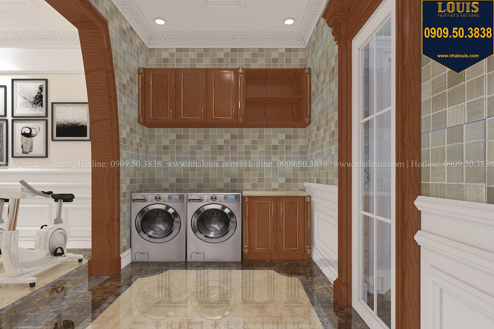 Phòng giặt biệt thự phong cách cổ điển châu Âu - 053