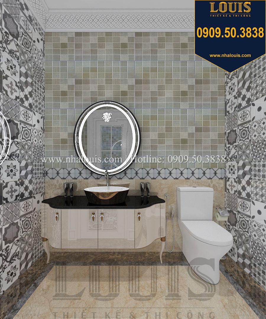 WC biệt thự phong cách cổ điển châu Âu - 056