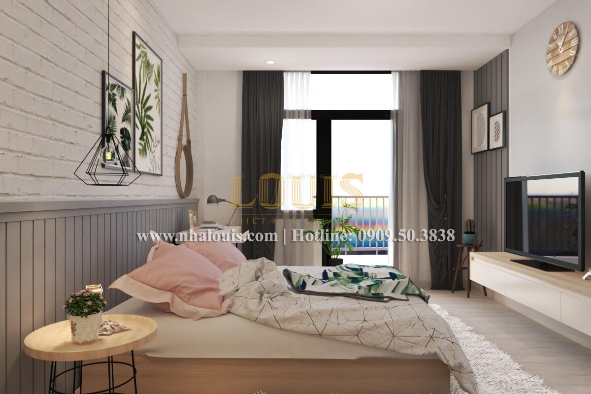 Phòng ngủ mẫu nhà 2 tầng đơn giản đầy đủ tiện nghi tại bình dương