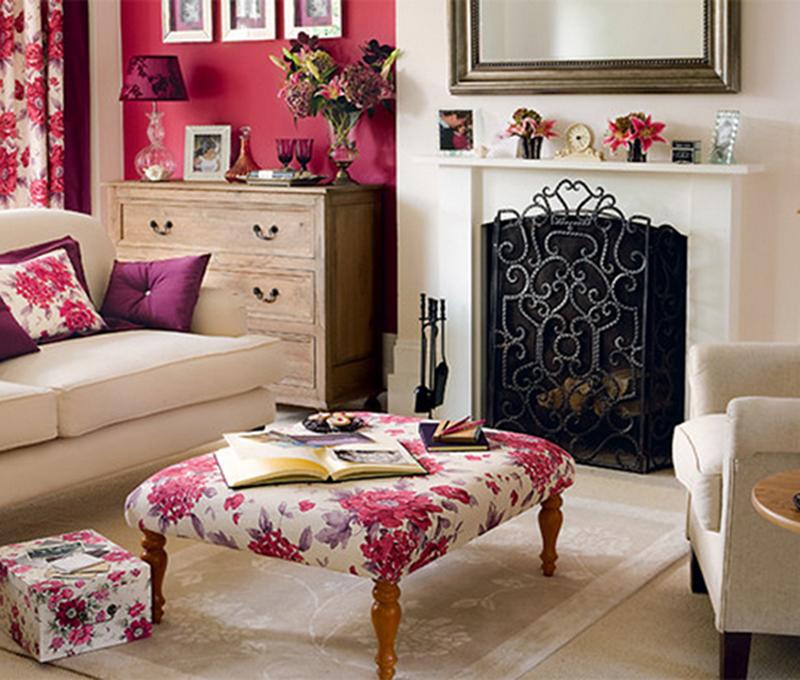 Thổi luồng gió mới vào nhà với phòng khách đẹp tràn ngập sắc hoa