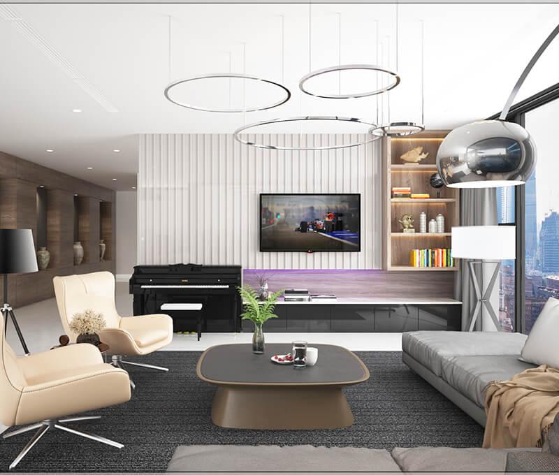 Tuyệt chiêu chọn nội thất cho những thiết kế nhà chung cư nhỏ hẹp