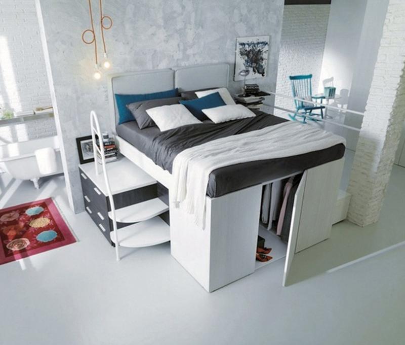 Với giường đa năng thông minh, nhà nhỏ chẳng bao giờ chật