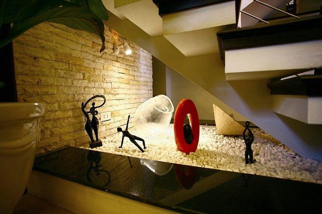 Biến góc chết trong nhà trở nên hữu dụng hơn cho không gian kiến trúc nhà thêm đẹp