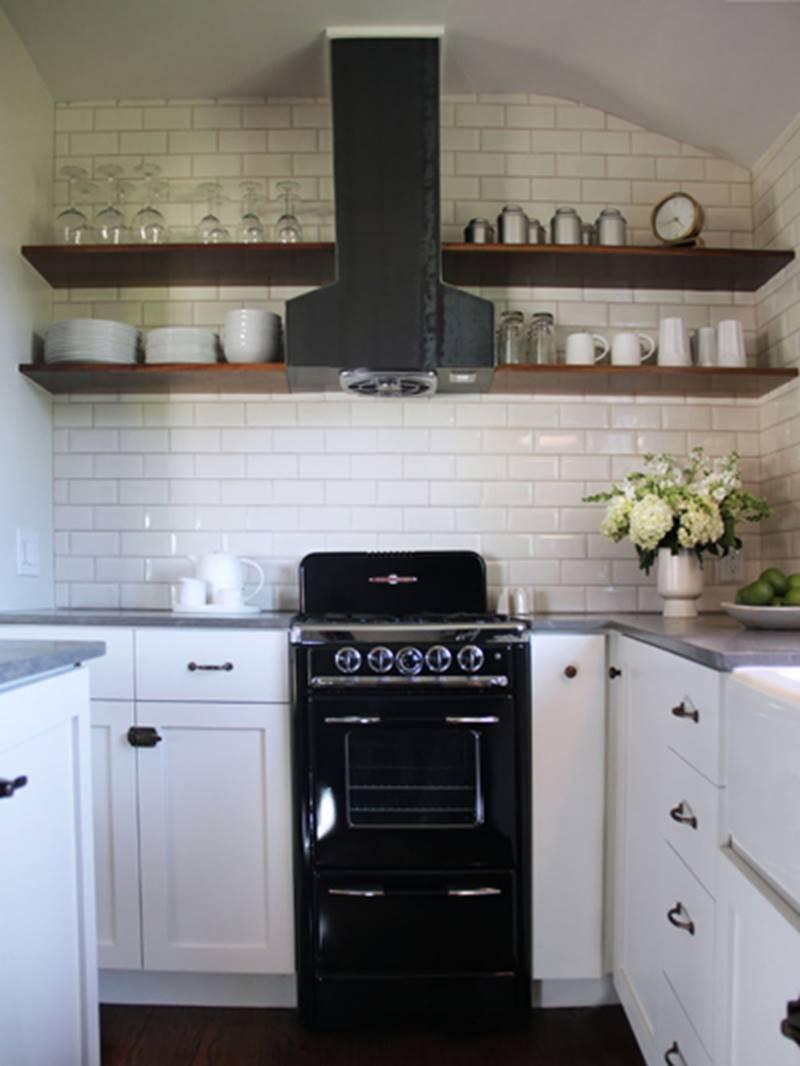 Mẫu phòng bếp nhỏ hẹp thêm đẹp với cách bố trí thông minh