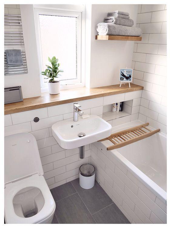 Mẹo giúp không gian phòng tắm nhỏ thêm rộng với cách trang trí thông minh