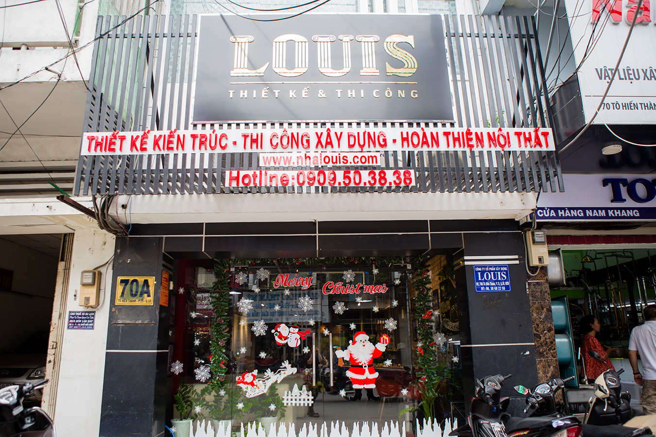 Ngập tràn không khí Noel sớm tại Louis
