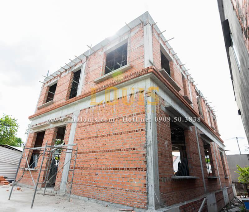 Nhật ký công trình: Dự án thi công biệt thự tân cổ điển ở Tân Phú
