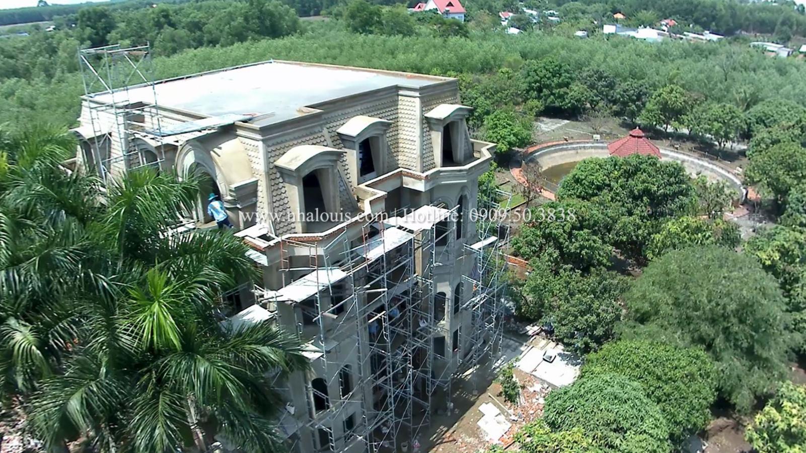 Biệt thự kiến trúc Pháp đẹp đẳng cấp sau cải tạo tại Đồng Nai
