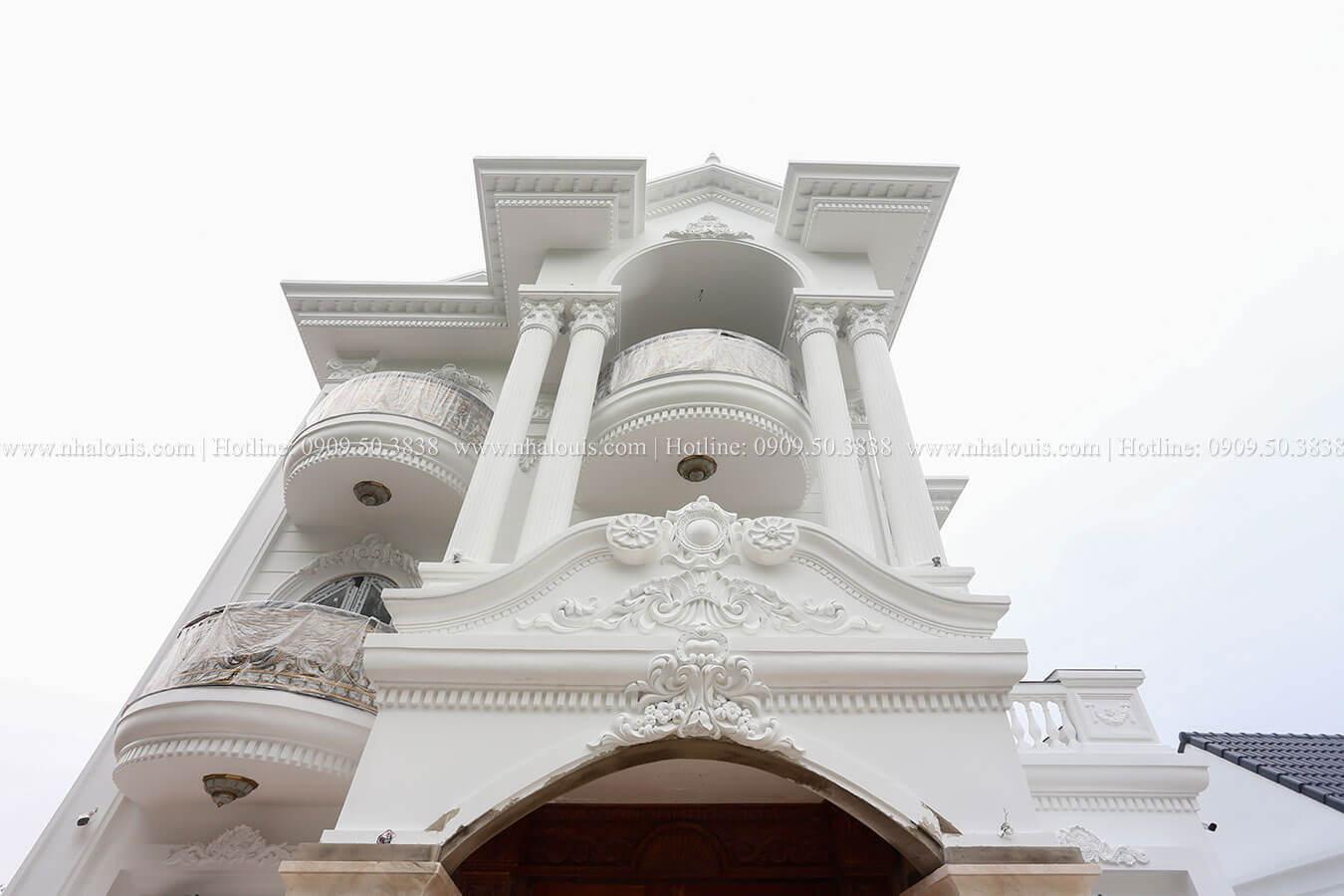 Thi công cải tạo biệt thự cũ thành biệt thự đẳng cấp tại Bình Chánh