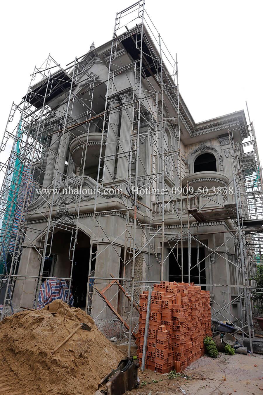"""Thi công cải tạo biệt thự tại Bình Chánh- Màn """"lột xác"""" ấn tượng"""