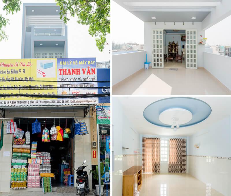 Thi công hoàn thiện nhà ống 5 tầng hiện đại tại Bình Tân [Video]