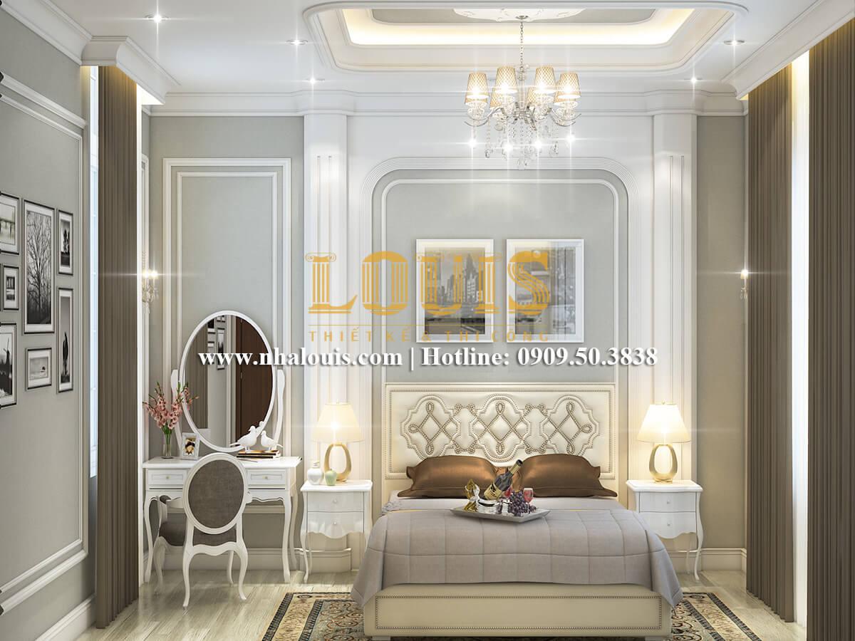 Phòng ngủ Thiết kế nội thất biệt thự hiện đại đẹp 3 tầng tại Vũng Tàu