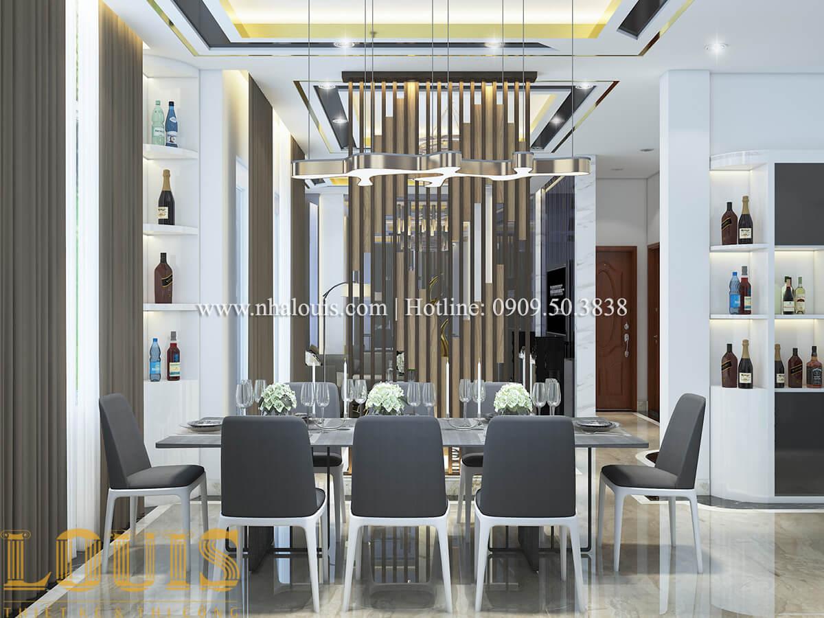 Phòng ăn Ngắm nội thất biệt thự hiện đại đẹp đẳng cấp tại Vũng Tàu