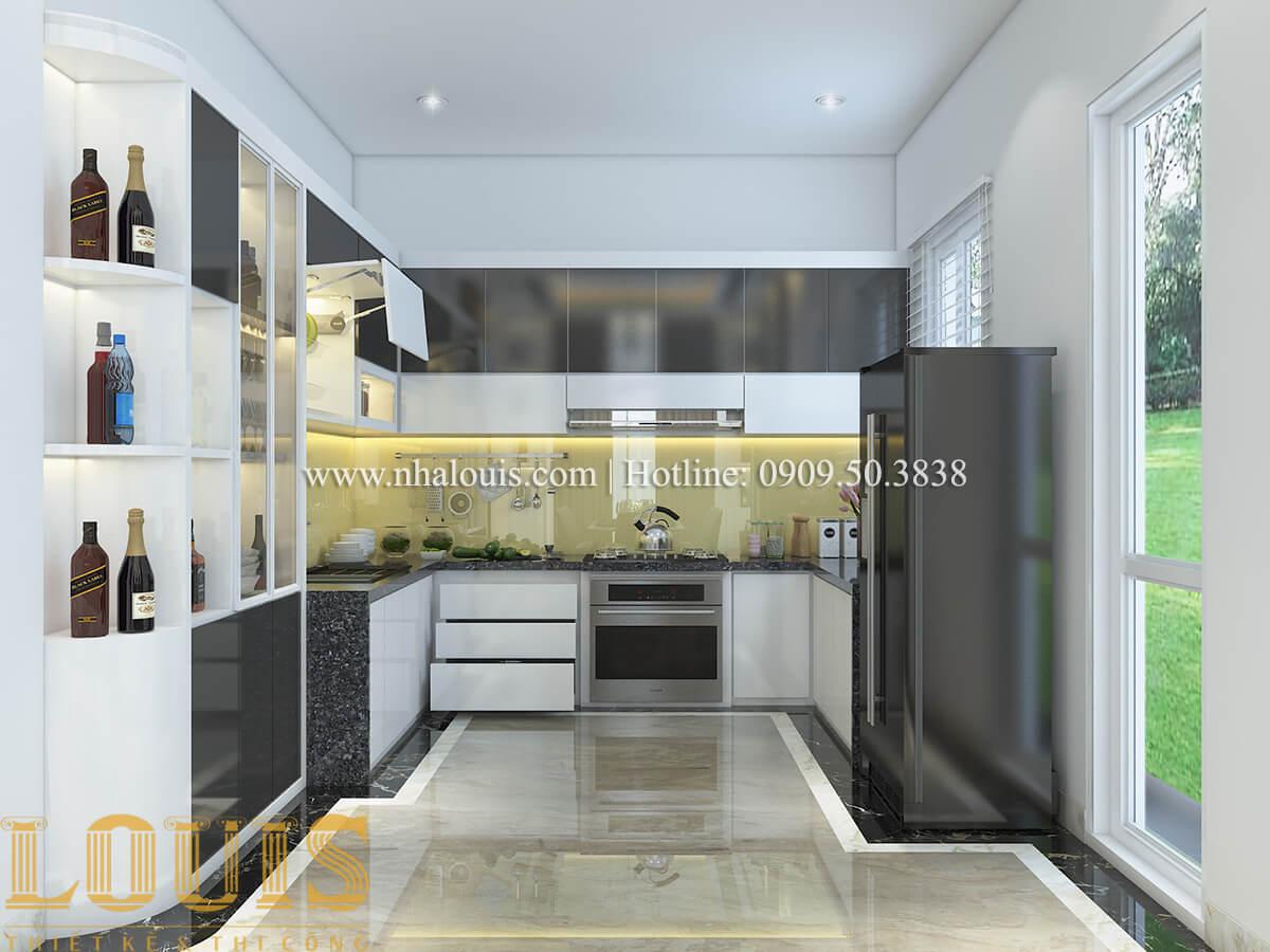 Phòng bếp Ngắm nội thất biệt thự hiện đại đẹp đẳng cấp tại Vũng Tàu