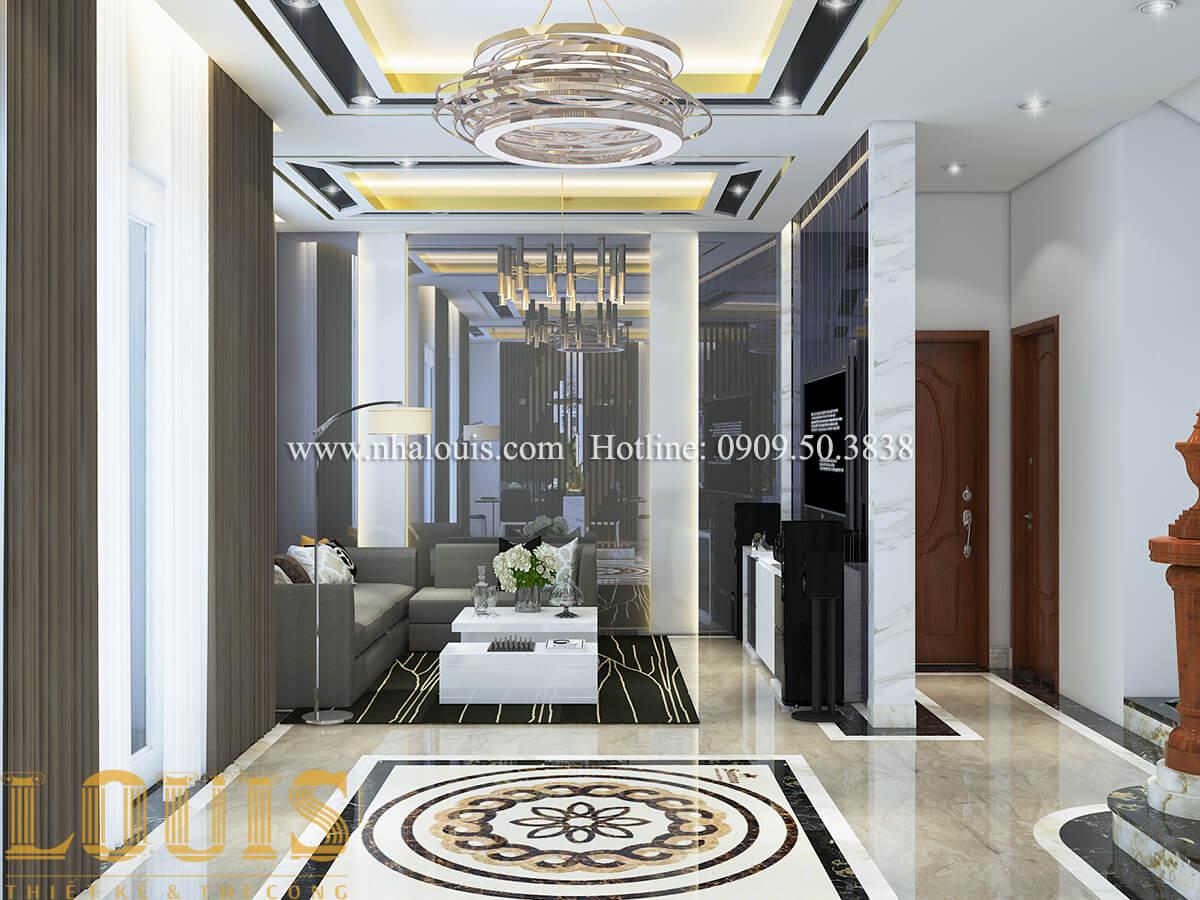 Phòng khách Ngắm nội thất biệt thự hiện đại đẹp đẳng cấp tại Vũng Tàu