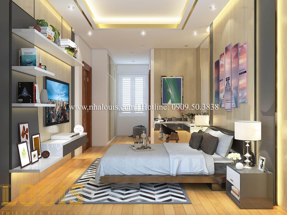Phòng ngủ nội thất biệt thự hiện đại đẹp đẳng cấp tại Vũng Tàu