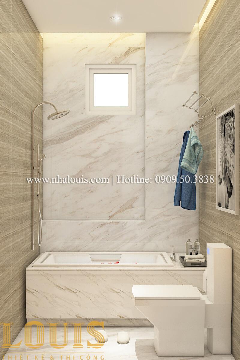 Phòng tắm và WC nội thất biệt thự hiện đại đẹp đẳng cấp tại Vũng Tàu