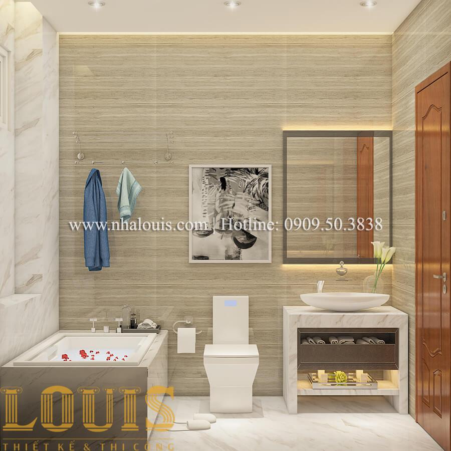 Phòng tắm và WC Ngắm nội thất biệt thự hiện đại đẹp đẳng cấp tại Vũng Tàu